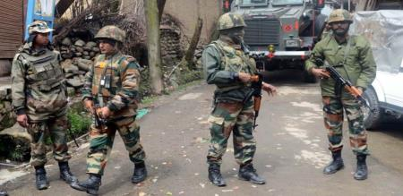 government alert indian army in kashmir