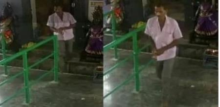 theft in temple at namakkal district