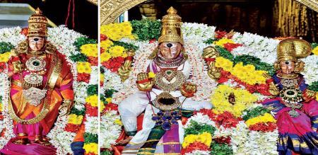 in Madurai chithirai festival and god vehicle rounding masi street in Madurai city