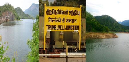 in thirunelveli district dams are filled