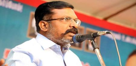 thirumavalavan says about rajini kamal