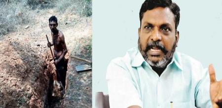 Tiruvannamalai Caste Atrocity Discrimination issue Thirumavalavan twit