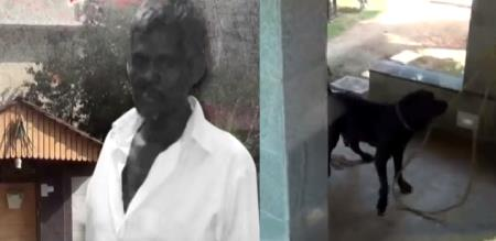 in thirunelveli man died simultaneously dog also died police investigation