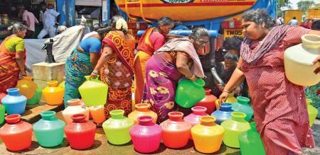 jayakumar talk about chennai water problem