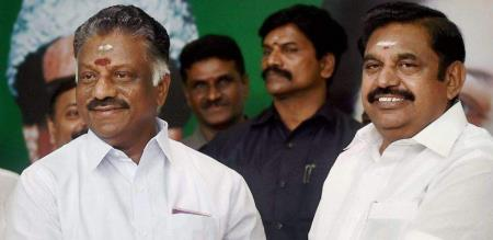 admk ops and eps new post for three ministers