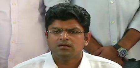 haryana bjp assistant cm Dushyant Chuatala