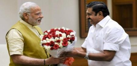 Tamilnadu CM Edappadi Palanisamy Pressmeet After Meeting Narendra Modi Delhi