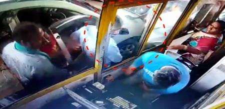 Naam Tamilar Katchi Member violent In Tollgate