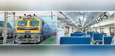 erode selam icf memo train introduced by railway