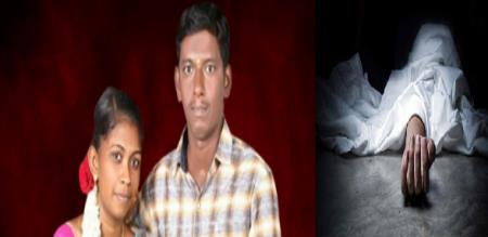 in trichy viralimalai by pass road wife killed by husband