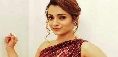 trisha act as sister to famous hero