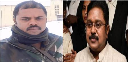 TTV Dhinakaran regret about Army Officer Palani