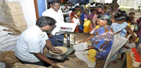 not free rice for ration cards