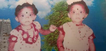 Trichy twin child girls died in pond