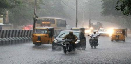 2 days rain in 15 districts