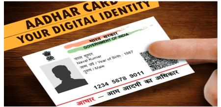 Central government  Aadhaar card
