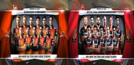rcb and srh players list