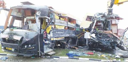 in villupuram bus accident people died 40 more injured