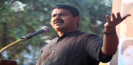 Seeman Condemn about Sathyam TV Attacked by Strangers