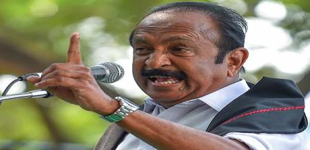 vaiko angry for the one country one family card issue