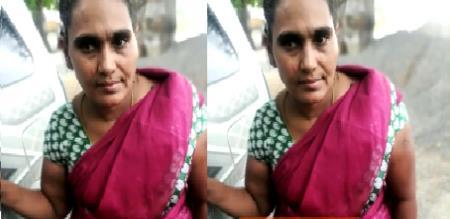 Thirupathur police arrest kanja sales lady