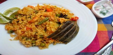 chettinad veg biriyani recipe
