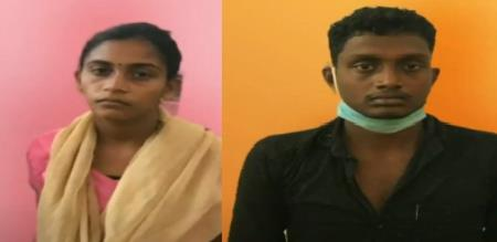 Thirupathur child murder her mother and second husband arrest by police