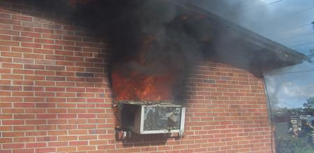 The disaster caused by air conditioner