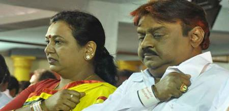 DMDK leader mourning to lakshmi movie makers swaminathan