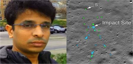 vikram lander discovered man meet with eps