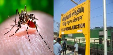 in vilupuram boy affected dengue fever admit in hospital