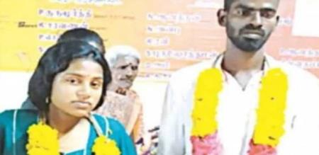 in Villupuram love couple marraige after delivery a baby