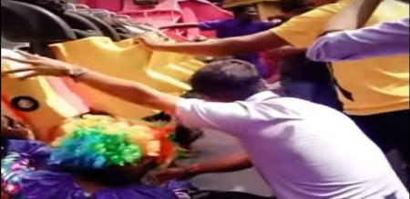 in Bangalore theem park accident video viral an social media
