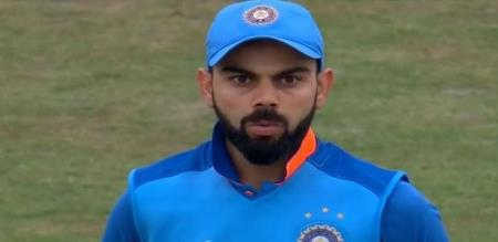 ICC warning to indian Captain kohli for his inappropriate physical contact