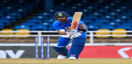 India won the match by 59 runs against west indies