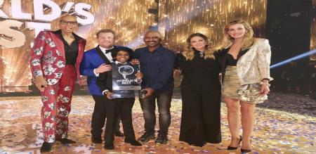 chennai boy lidiyan nadaswaram win the world best award