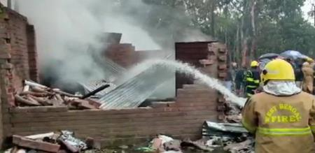 in west bengal firework industry fire accident peoples died