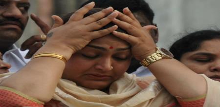 kuspu says about jayalalitha
