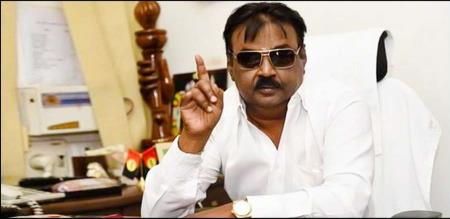 vijayakanth statement for thiruvalluvar statue