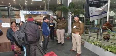 MLA ARREST IN DELHI AIRPORT