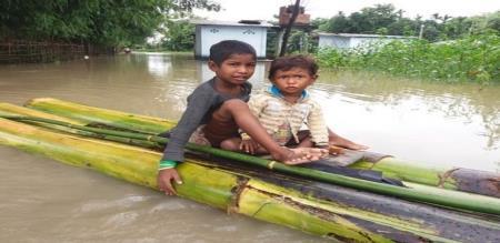 assam states heavy rain 166 people died