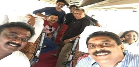 pandavar team mau travel to madurai